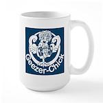 Geezer-Chick Large Mug
