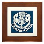 Geezer-Chick Framed Tile