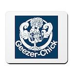 Geezer-Chick Mousepad