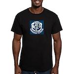 Geezer-Chick Men's Fitted T-Shirt (dark)