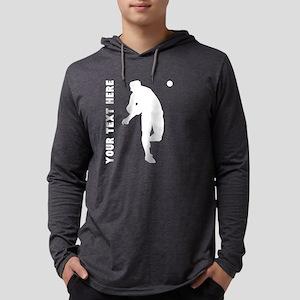 Baseball Pitcher (Custom) Long Sleeve T-Shirt