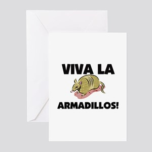Viva La Armadillos Greeting Cards (Pk of 10)