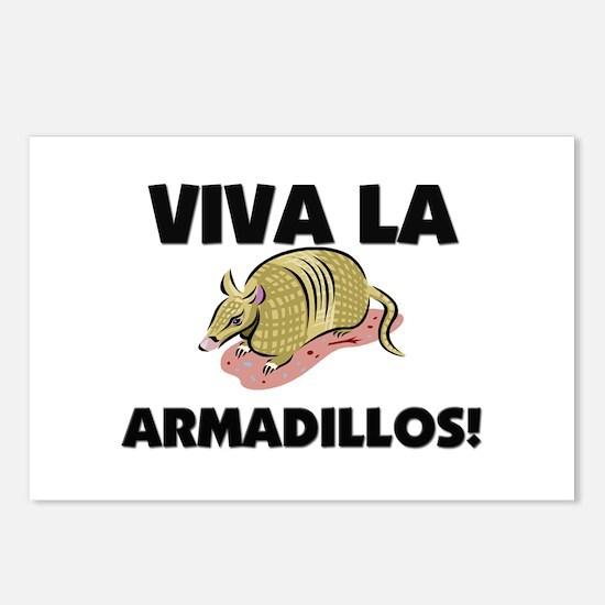 Viva La Armadillos Postcards (Package of 8)