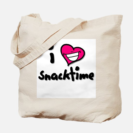 I Heart Snacktime Tote Bag