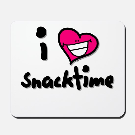 I Heart Snacktime Mousepad