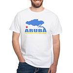 Aruba Divi White T-Shirt