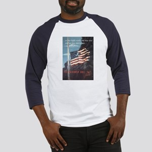 Navy WWII Poster Baseball Jersey