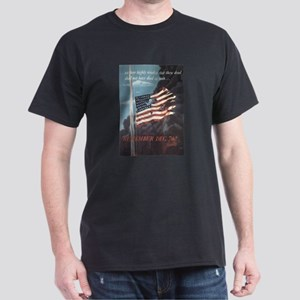 Navy WWII Poster Dark T-Shirt