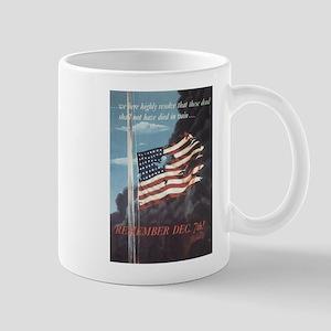 Navy WWII Poster Mug
