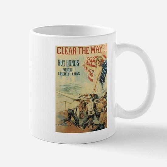 Navy WWI Poster Mug
