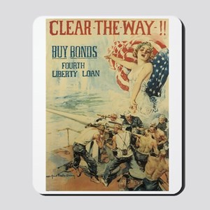 Navy WWI Poster Mousepad
