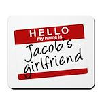 Twilight - Jacob's Girlfriend Mousepad