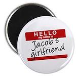 Twilight - Jacob's Girlfriend Magnet