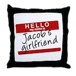 Twilight - Jacob's Girlfriend Throw Pillow
