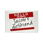Twilight - Jacob's Girlfriend Rectangle Magnet