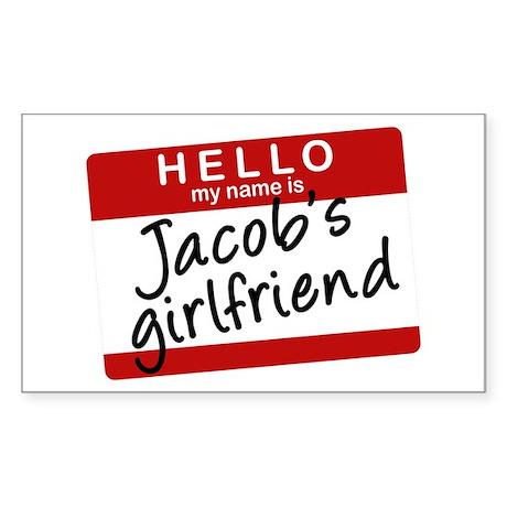 Twilight - Jacob's Girlfriend Rectangle Sticker