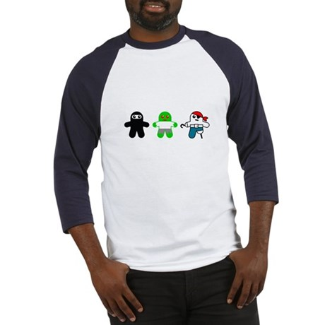 Ninja, Zombie, Pirate Baseball Jersey