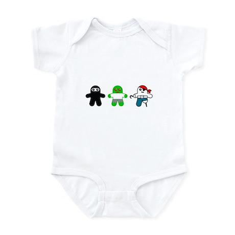 Ninja, Zombie, Pirate Infant Bodysuit