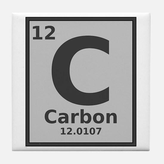 Periodic table carbon coasters cork puzzle tile coasters carbon tile coaster urtaz Choice Image