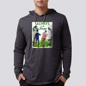 always at your service Long Sleeve T-Shirt