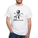 Detroit Pirate White T-Shirt