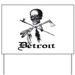 Detroit Pirate Yard Sign
