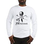 Detroit Pirate Long Sleeve T-Shirt