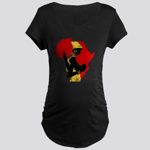 Sista Soulja Maternity Dark T-Shirt