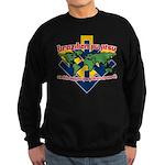 BJJ Tshirt - Back Down to Earth Sweatshirt (dark)