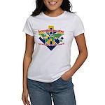 BJJ Tshirt - Back Down to Earth Women's T-Shirt