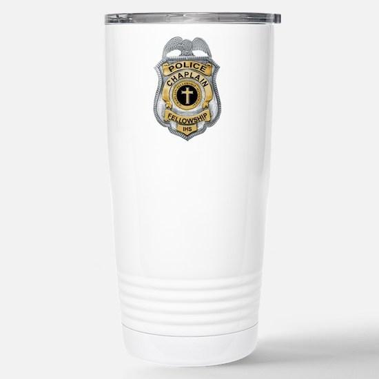 Stainless Steel Travel Mug Police Department