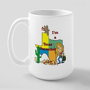 Texas Geocaching Shirt Mugs
