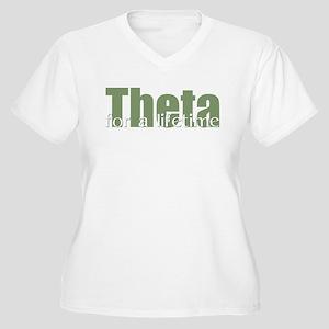 Theta Women's Plus Size V-Neck T-Shirt