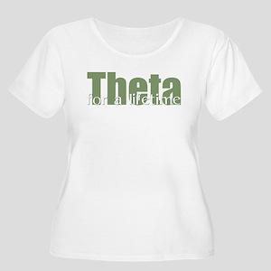Theta Women's Plus Size Scoop Neck T-Shirt