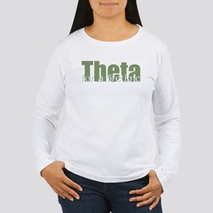 Theta Women's Long Sleeve T-Shirt