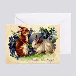 """""""Easter Bunnies"""" Greeting Card"""