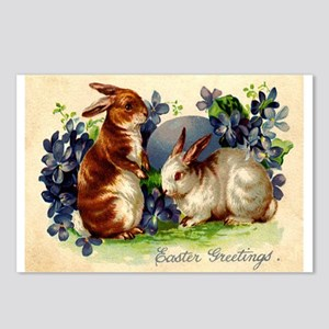 """Easter Bunnies"" Postcards (Package of 8"