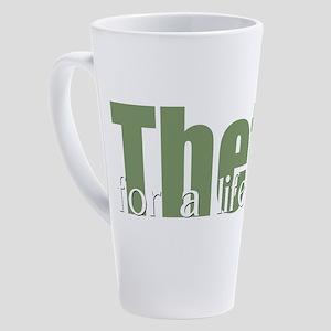 Theta 17 oz Latte Mug