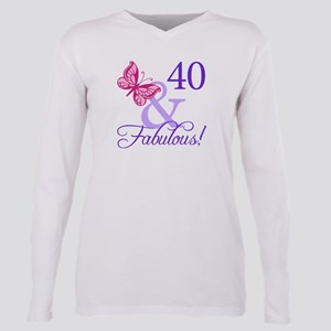 40th Birthday Butterfly T-Shirt