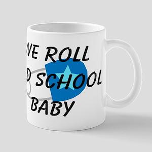 We roll old school Mug