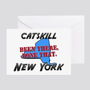 catskill new york - been there, done that Greeting