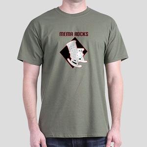 Mema Rocks Dark T-Shirt