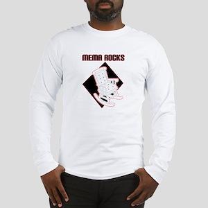 Mema Rocks Long Sleeve T-Shirt