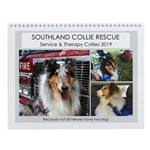Scr Service & Therapy Collies Wall Calendar
