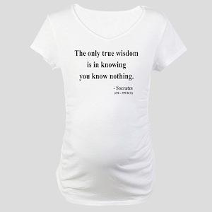 Socrates 3 Maternity T-Shirt