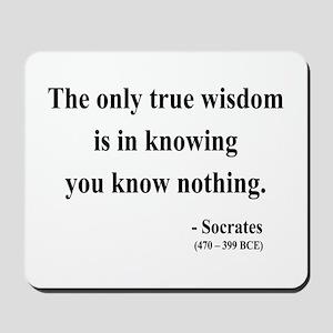 Socrates 3 Mousepad