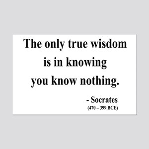 Socrates 3 Mini Poster Print