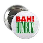 """""""Bah Humbug!"""" Button"""