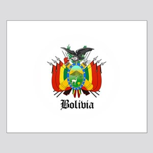 Bolivian Coat of Arms Seal Small Poster