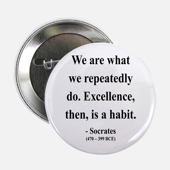 "Socrates 6 2.25"" Button"